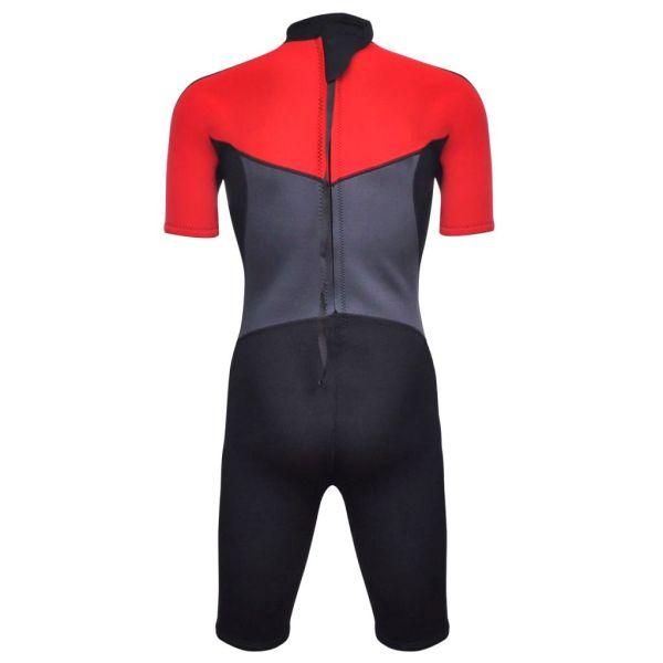 vidaXL Costum bărbătesc scurt sporturi acvatice XL 180 – 185 cm 2,5 mm