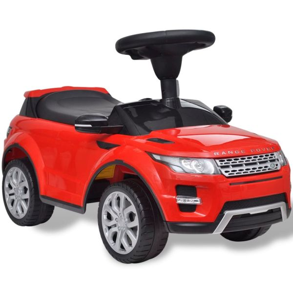 Mașinuță pentru copii muzicală, Land Rover 348, roșu