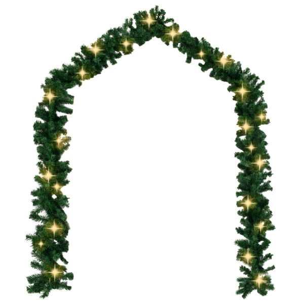 242424 Ghirlandă de Crăciun cu becuri LED, 10 m