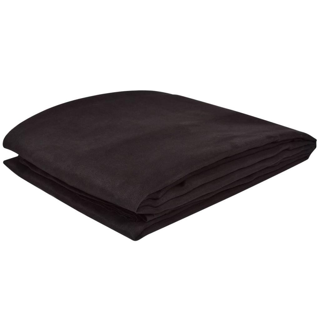 Husă din velur micro-fibră pentru canapea, 140 x 210 cm, maro