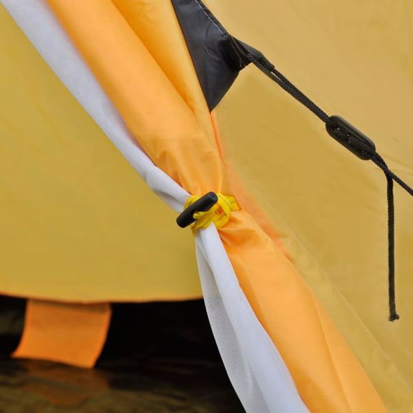 vidaXL Cort pentru 4 persoane, galben