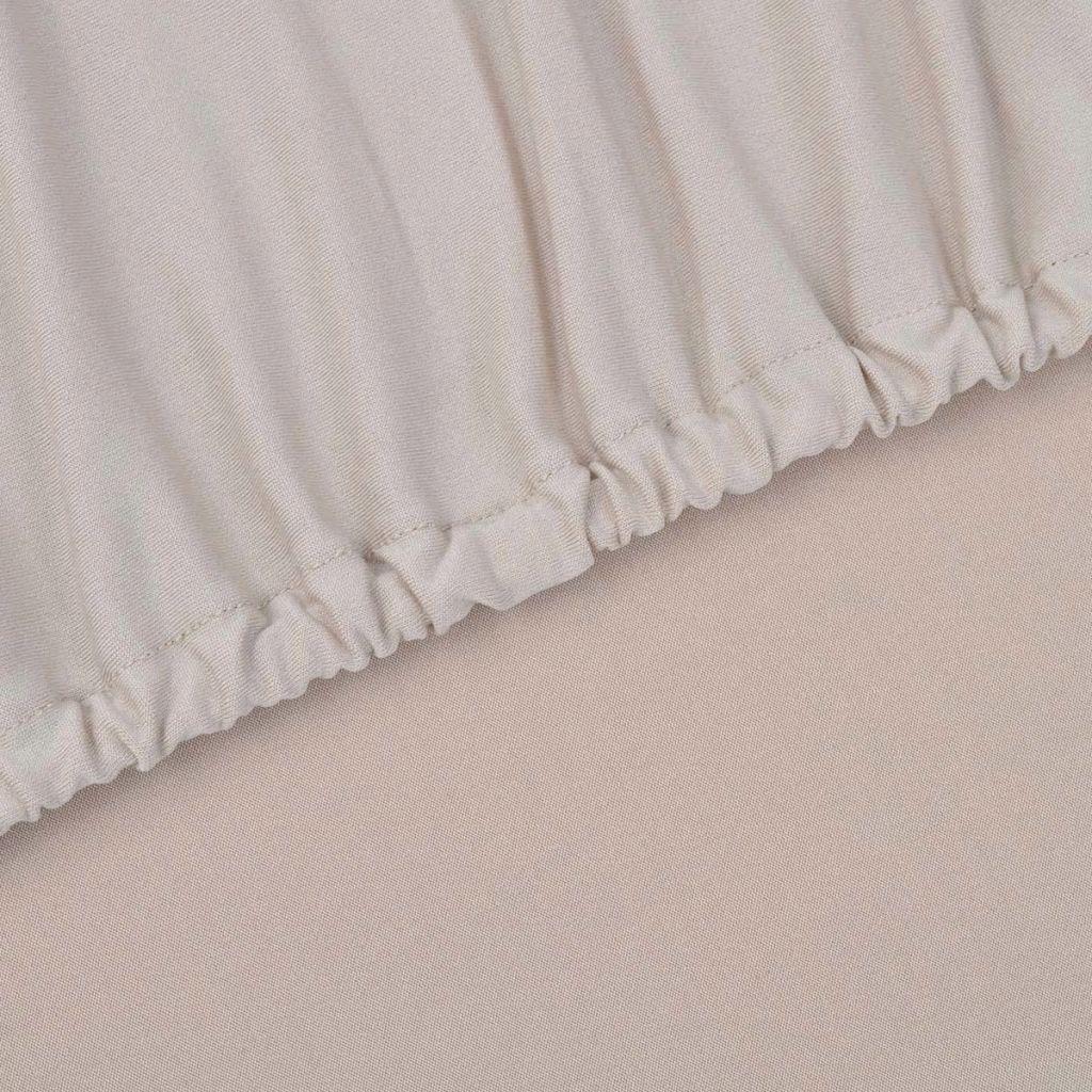 vidaXL Husă elastică pentru canapea, poliester jersey, bej