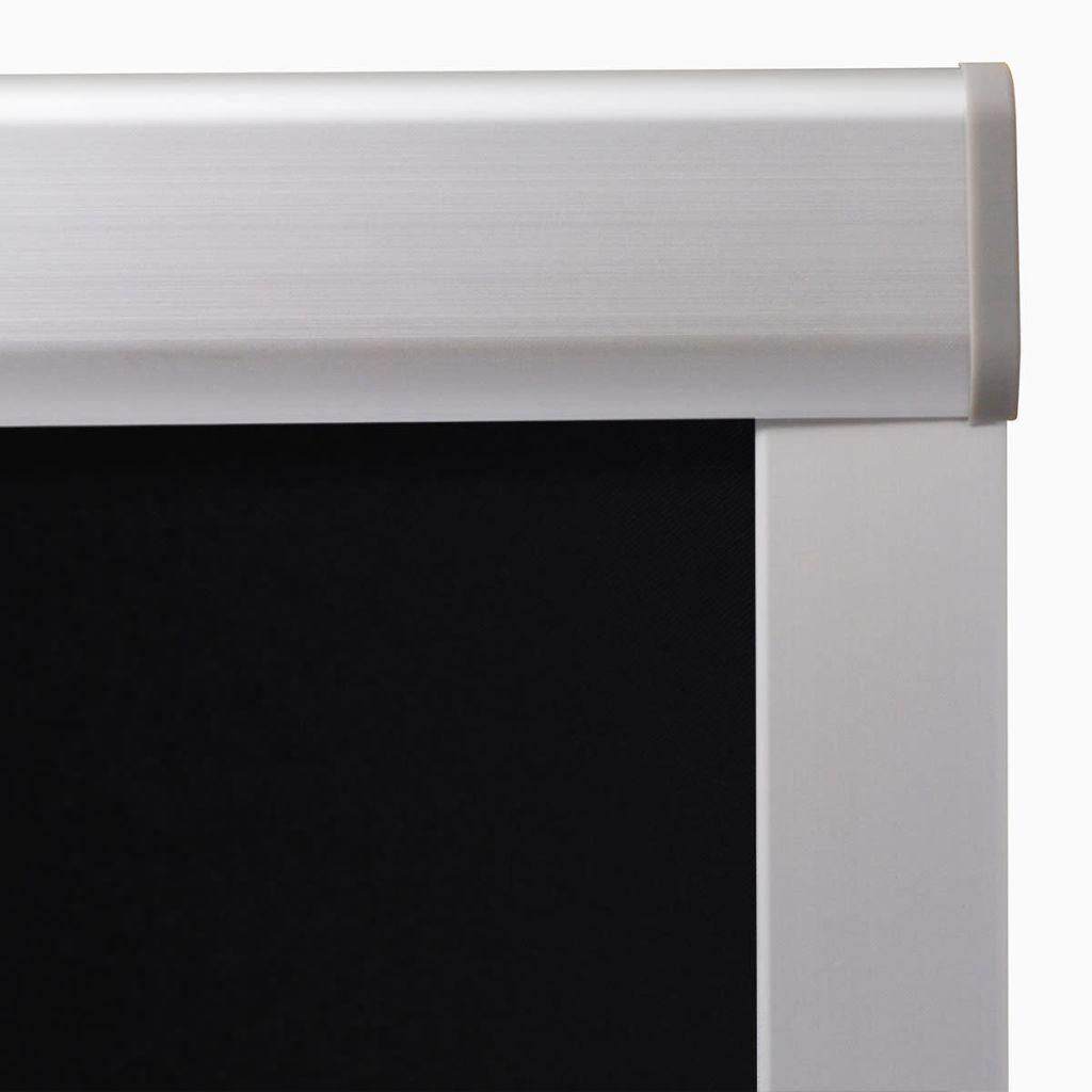 vidaXL Jaluzele opace tip rulou S06/606, negru