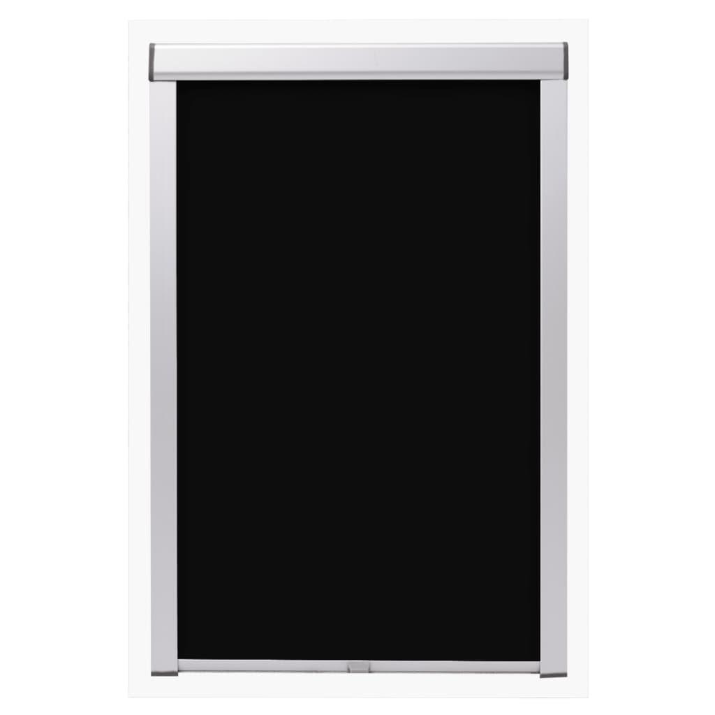 Jaluzele opace tip rulou S08/608, negru