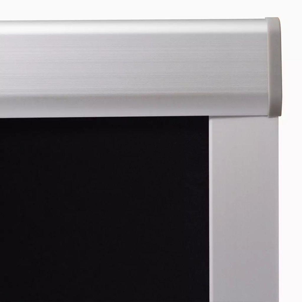 vidaXL Jaluzele opace tip rulou U08/808, negru