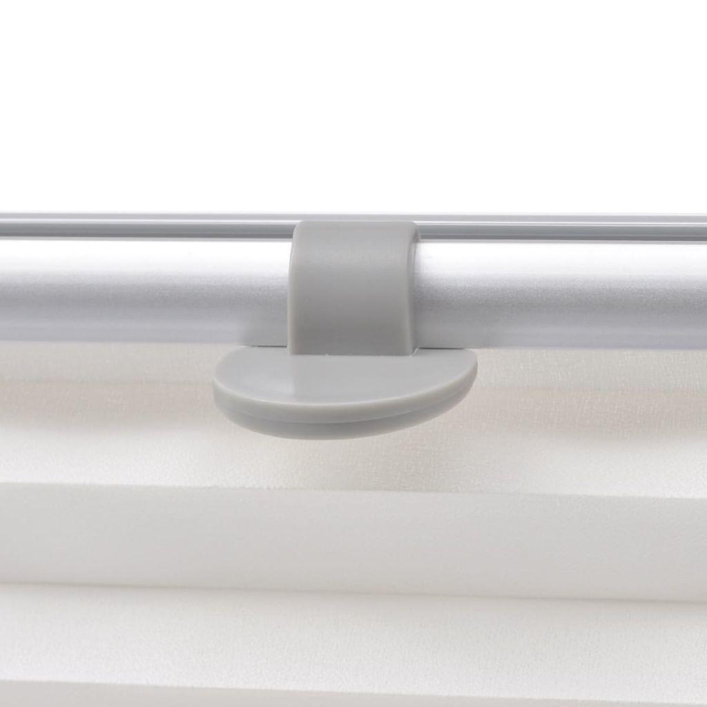 Jaluzele plisate M08/308, alb