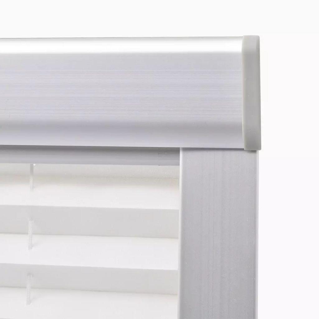 Jaluzele plisate P06/406, alb