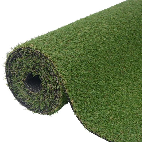 vidaXL Gazon artificial 1 x 15 m/20-25 mm, Verde