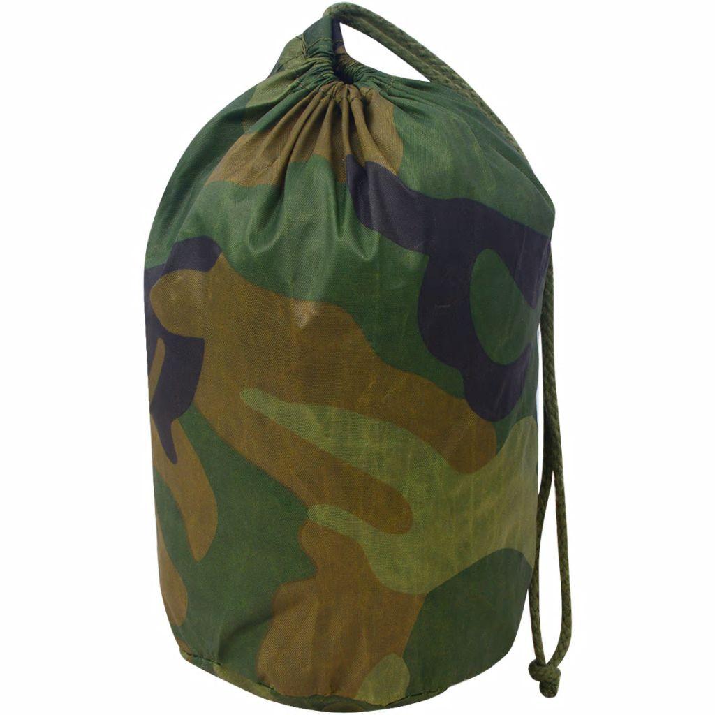 vidaXL Plasă de camuflaj cu geantă de depozitare 4×6 m