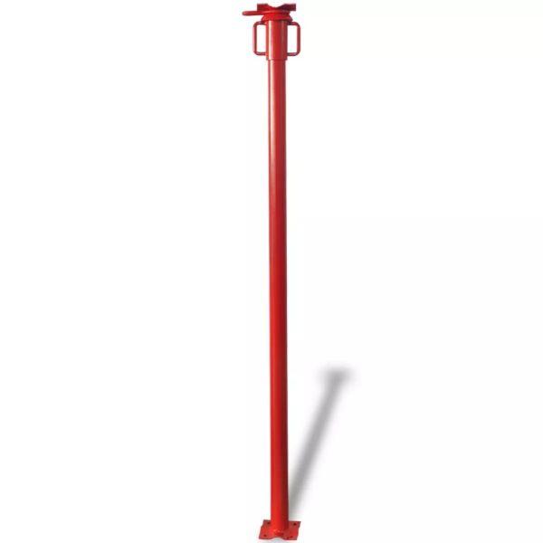 vidaXL Proptea Acrow 280 cm, roșu