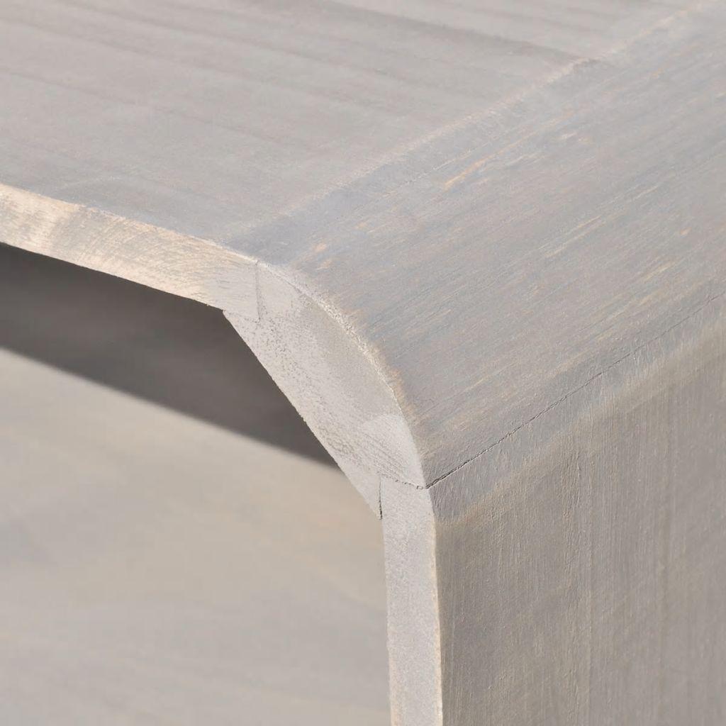 Dulap din lemn, 90 x 39 x 38,5 cm, gri