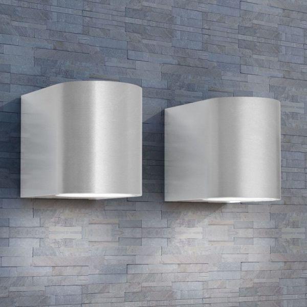 vidaXL Corpuri de iluminat pentru perete exterior, 2 buc.