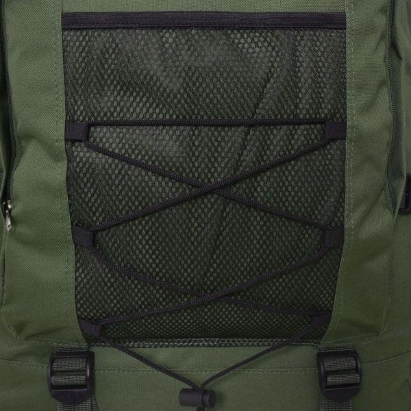 vidaXL Rucsac în stil militar, XXL, 100 L, verde