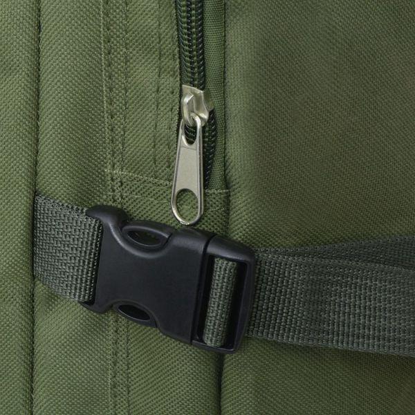 vidaXL Rucsac în stil militar 65 L verde