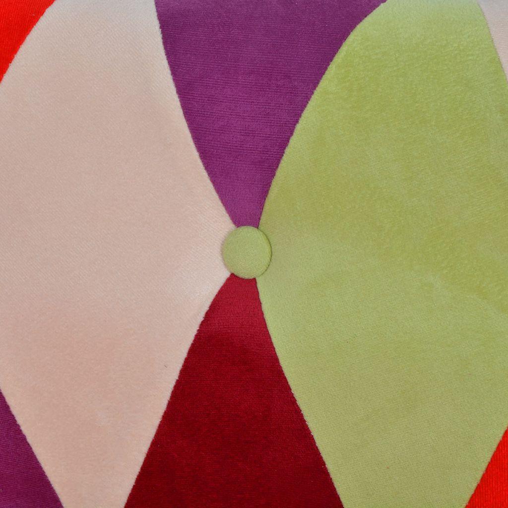 vidaXL Canapea Chesterfield cu 2 locuri din material textil