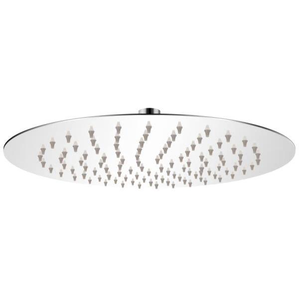 vidaXL Cap de duș rotund tip ploaie, oțel inoxidabil, 25 cm