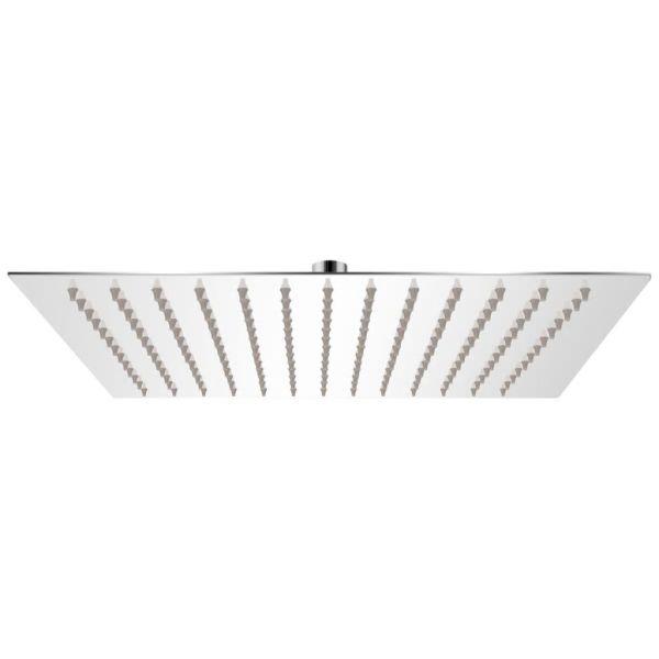 vidaXL Cap de duș pătrat tip ploaie, oțel inoxidabil, 25×25 cm