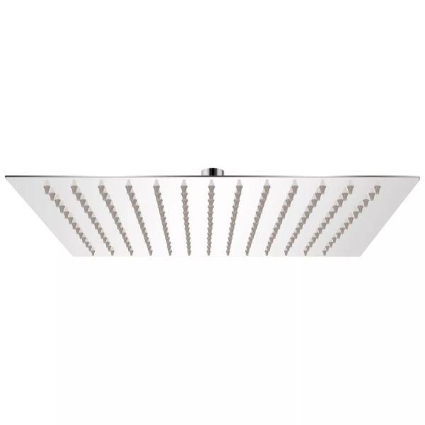 vidaXL Cap de duș pătrat tip ploaie, oțel inoxidabil, 30 x 30 cm