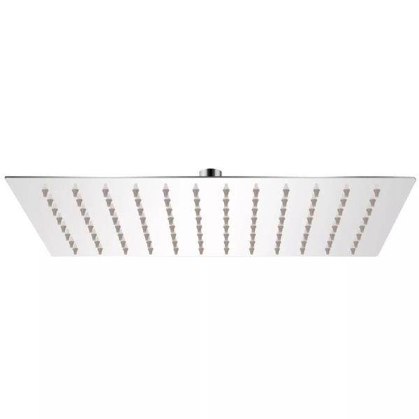 vidaXL Cap de duș dreptunghiular tip ploaie, oțel inoxidabil, 20×30 cm