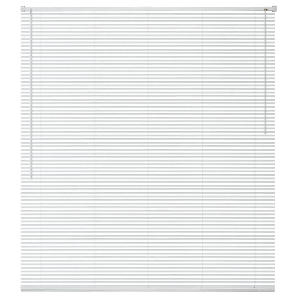 vidaXL Jaluzele din aluminiu, 60 x 130 cm, alb