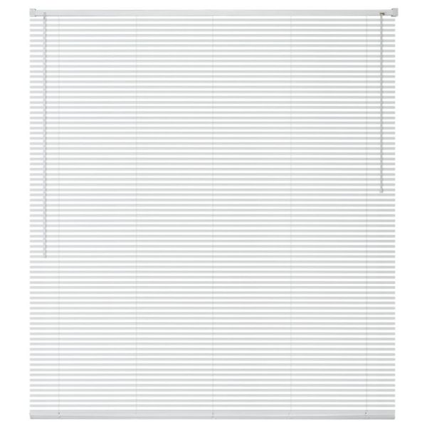 vidaXL Jaluzele pentru ferestre, aluminiu, 80 x 130 cm, alb