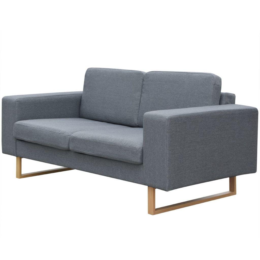 Set Canapele pentru 2 și 3 persoane Gri deschis
