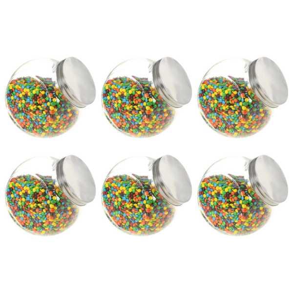 vidaXL Borcane pentru bomboane, 6 buc. 19,5 x 13,5 x 19,5 cm, 3000 ml