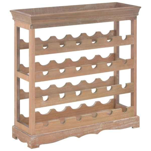 vidaXL Dulap de vinuri, 70×22,5×70,5 cm, MDF, maro