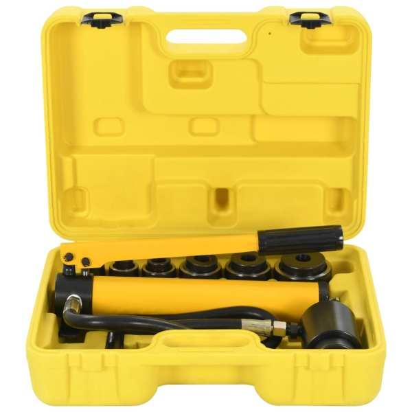 vidaXL Set instrumente hidraulice de sertizare, 22 – 60 mm