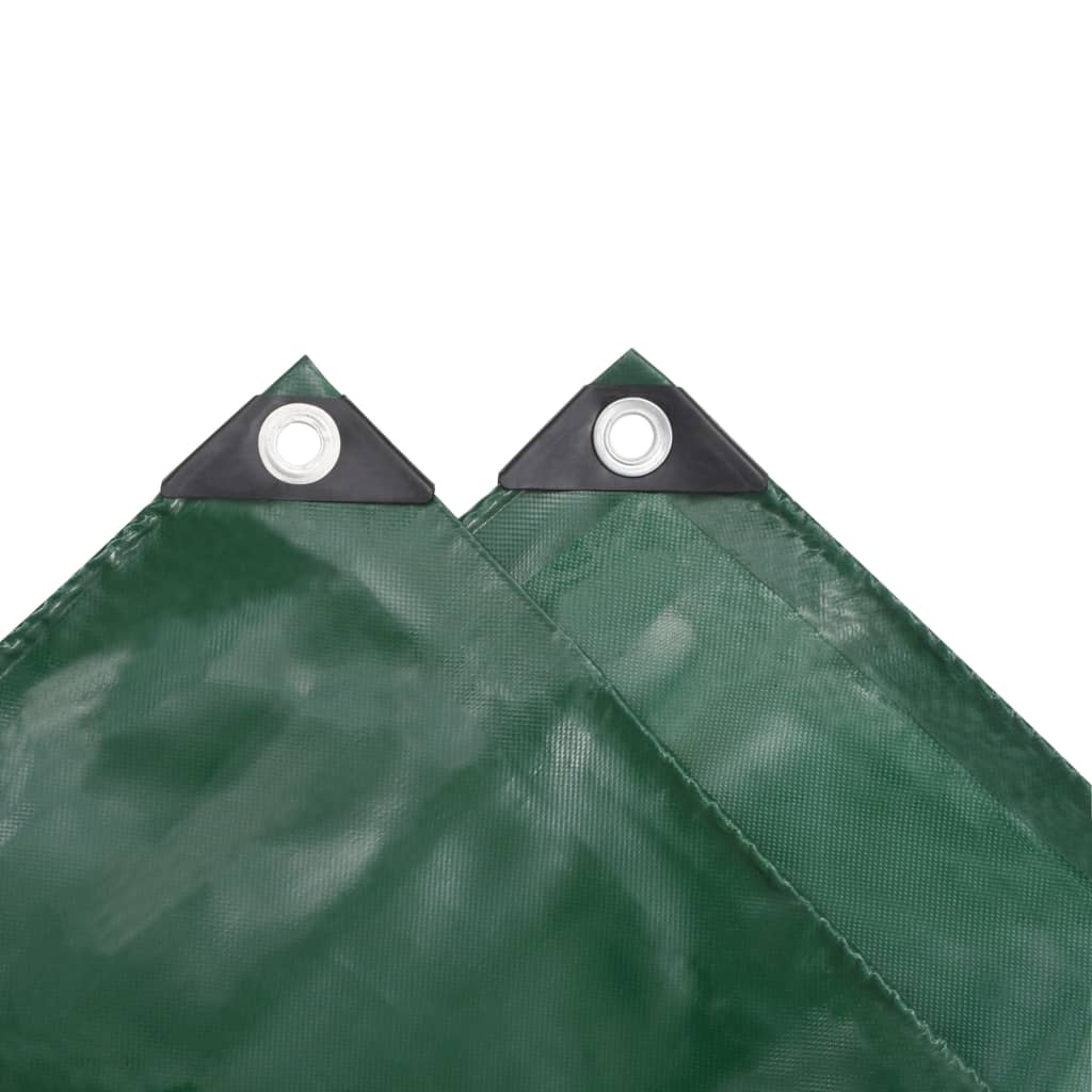 Prelată, verde, 1,5 x 10 m, 650 g / m²