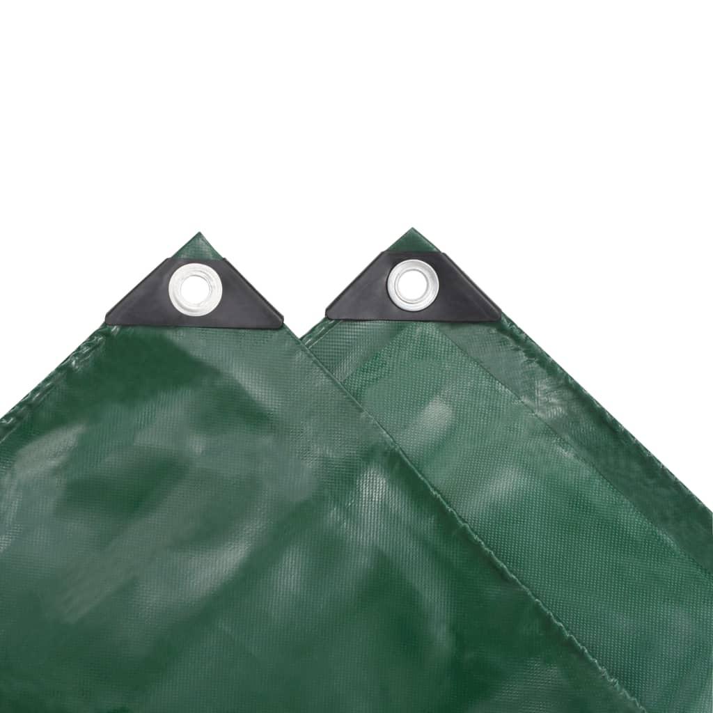 Prelată, verde, 5 x 6 m, 650 g/m²