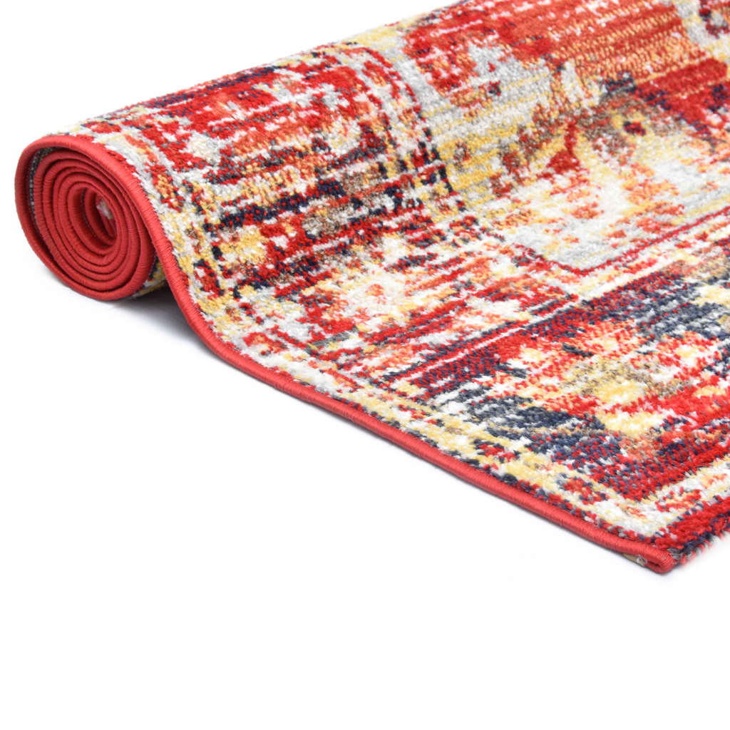 vidaXL Covor, roșu, 120 x 170 cm, PP
