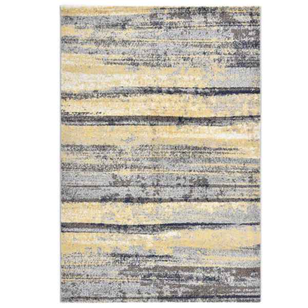 vidaXL Covor, gri și bej, 80 x 150 cm, PP