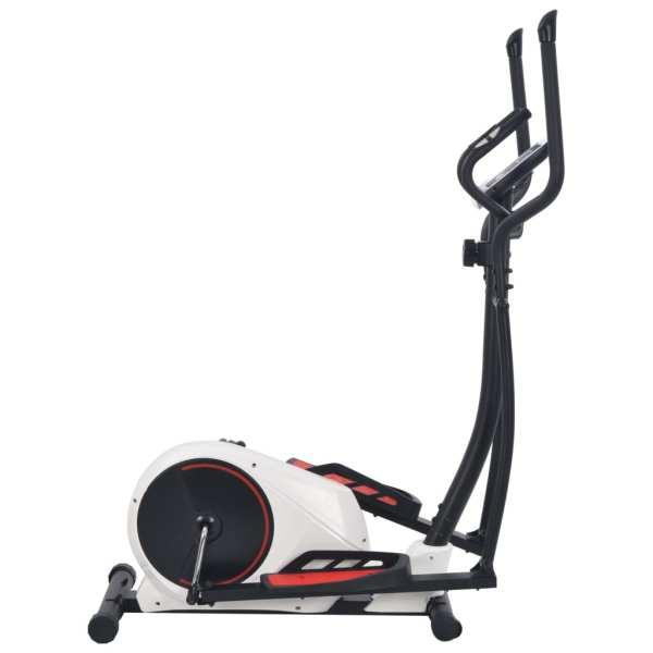 vidaXL Bicicletă eliptică magnetică cu măsurare puls