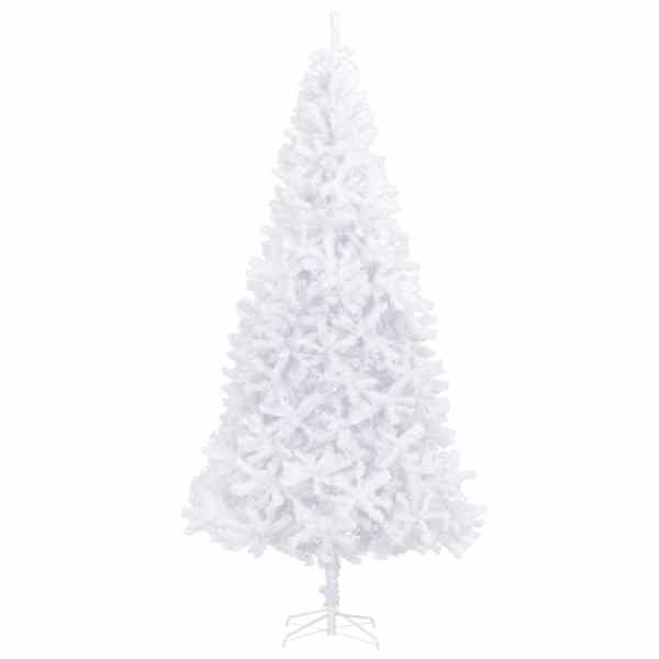 Brad de Crăciun artificial, alb, 300 cm