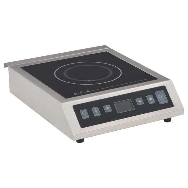 vidaXL Plită cu inducție masă electrică cu ecran tactil, 3500 W
