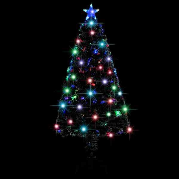 Brad de Crăciun artificial cu suport/LED, 120 cm, 135 ramuri
