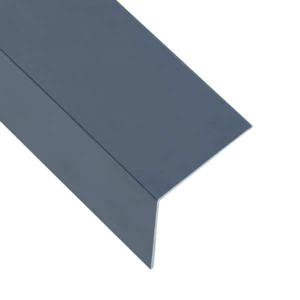 vidaXL Profile colț în L 90° 5 buc. antracit 170 cm 50×50 mm aluminiu