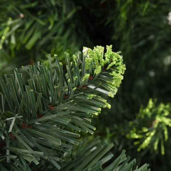 Brad de Crăciun artificial cu conuri de pin, verde, 150 cm
