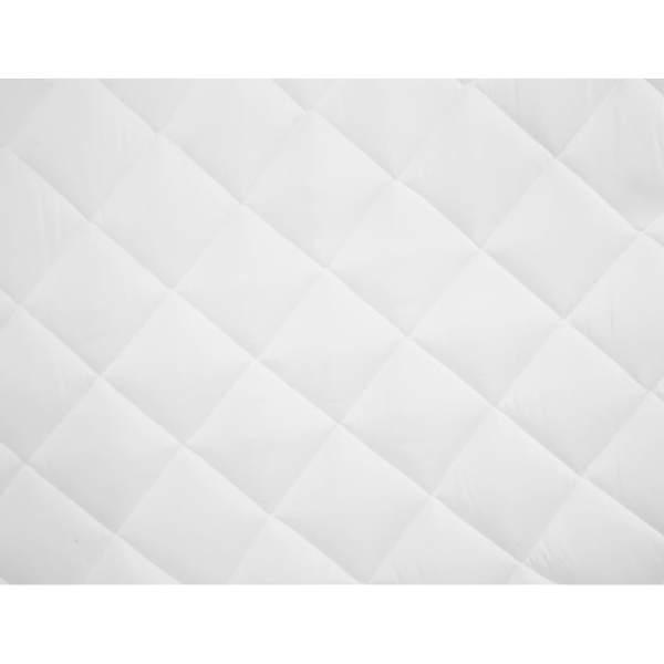 vidaXL Protecție pentru saltea matlasată, alb, 140 x 200 cm, subțire