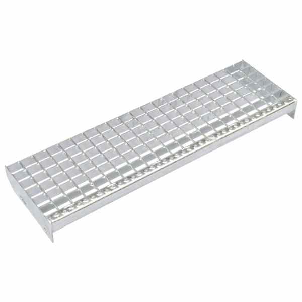 vidaXL Trepte de scară sudate 4 buc. 800 x 240 mm oțel galvanizat