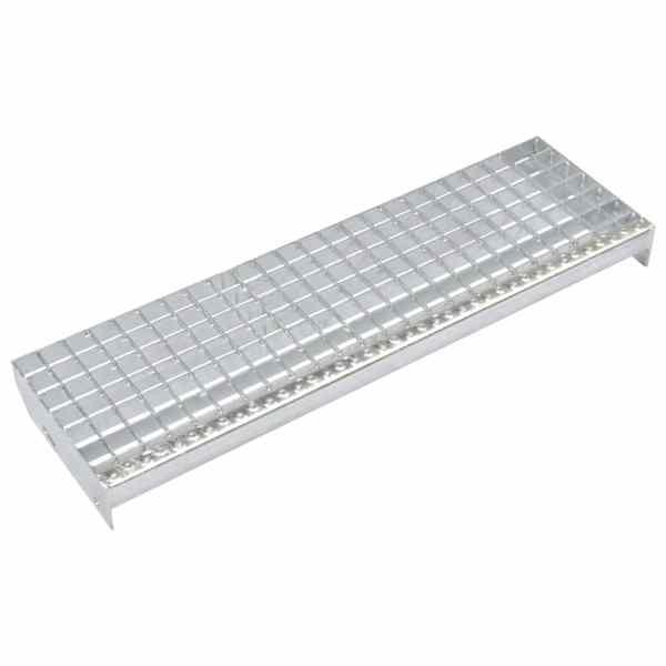 vidaXL Trepte de scară presate 4 buc. 600×240 mm oțel galvanizat
