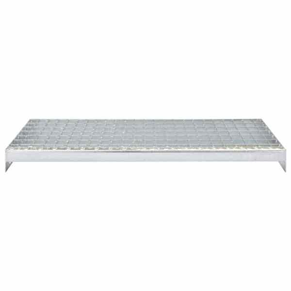 Trepte de scară presate 4 buc. 800×240 mm oțel galvanizat