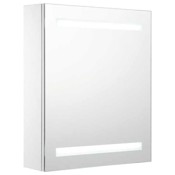 Dulap de baie cu oglindă și LED-uri, 50 x 14 x 60 cm
