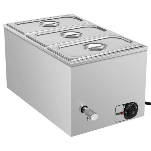 vidaXL Încălzitor alimente tip bain marie 1500W GN 1/3 oțel inoxidabil