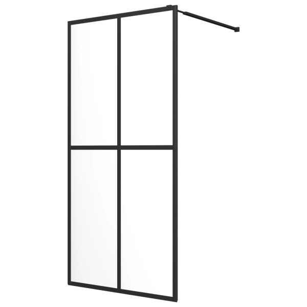 Paravan de duș walk-in, sticlă securizată, 80 x 195 cm
