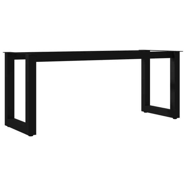 vidaXL Picioare de bancă cu cadru în formă de O, 105 x 36 x 42 cm