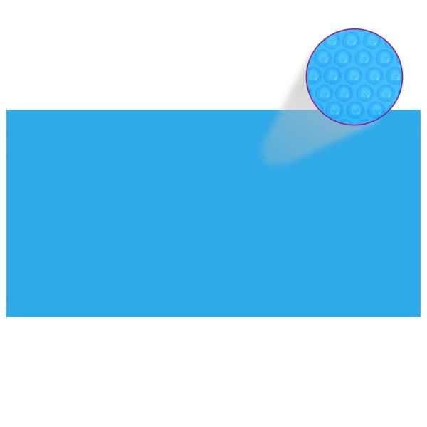 Prelată piscină, albastru, 400 x 200 cm, PE