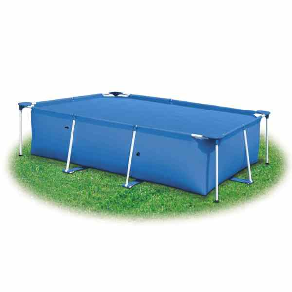vidaXL Prelată piscină, albastru, 600 x 300 cm, PE