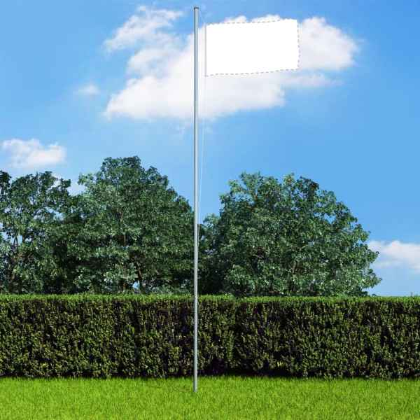 vidaXL Stâlp de steag modular, 6,2 m, aluminiu